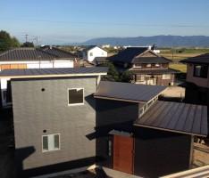 段々屋根の家 竣工