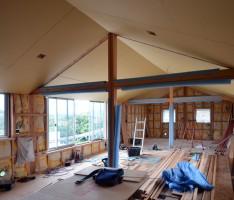 四季の家 勾配天井