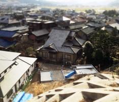 久山の家 上から見るか、横から見るか