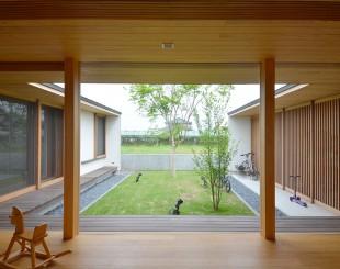 筑後の家 植栽と生活